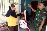 Satgas TMMD ikut pantau perkembangan balita Dusun Kalirau