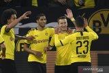 Dortmund menang 1-0 atas tim pemuncak klasemen Liga Jerman Moenchengladbach