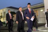 Presiden Jokowi sebut pelantikan sederhana karena menyesuaikan situasi