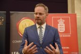 Dubes Denmark Rasmus A Kristensen merasa terhormat saksikan pelantikan Jokowi-Ma'ruf