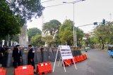 Pelantikan presiden, Stasiun Tanah Abang-Palmerah tidak beroperasi