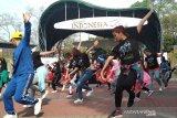 Warga Semarang antusias berlatih koreografi