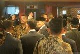 Prabowo-Sandi sudah  tiba di kompleks parlemen hadiri pelantikan Jokowi-Maruf