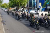 Polresta Banjarmasin gelar patroli skala besar saat hari pelantikan presiden