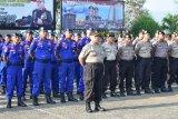 Sebanyak 1.292 personel Polda Lampung melaksanakan apel siaga