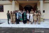 TNI-Polri dan Linmas amankan ibadah gereja jelang pelantikan