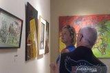 ISI Yogyakarta lepas dosen purnatugas dengan pameran di Borobudur