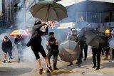 Pengunjuk rasa Hong Kong berterima kasih kepada Donald Trump