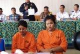 Dua perempuan asal Thailand ditangkap  bawa 958 gram sabu