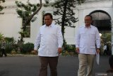 Prabowo : Partai Gerindra siap membantu Presiden Jokowi