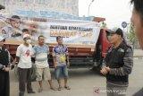 ACT Sumsel kirim tiga truk logistik ke daerah terdampak karhutla