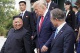 Trump dan Moon membicarakan upaya menjaga perundingan dengan Korut