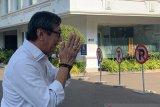 Yasonna datang ke Istana Presiden diikuti Budi Karya dan Moeldoko