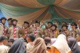 Ratusan peserta perkemahan meriahkan Hari Pramuka tingkat Kwarcab Waykanan