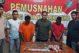 Polisi tangkap dua pelaku pengedar ganja di Sentani