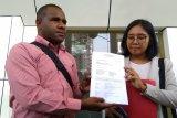 Aktivis Papua Surya Anta dan kawan-kawan ajukan praperadilan di Pengadilan Jaksel