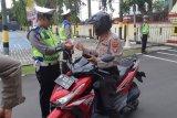 Operasi Zebra Seligi Karimun diawali razia kendaraan polisi
