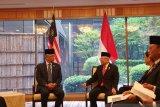 Bertemu Raja Malaysia, Wapres Ma'ruf Amin minta pekerja migran dilindungi