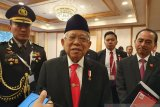 Wapres Ma'ruf harap Presiden Jokowi pilih menteri muda dan kreatif