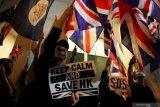Hong Kong masuki masa krisis karena aksi protes antipemerintah belum mereda