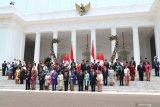 Presiden Jokowi jelaskan Kabinet Indonesia Maju teruskan program pembangunan
