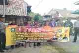 Polres Ogan Komering Ulu  sosialisasikan bahaya karhutla