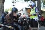 Puluhan pengendara di Palu terjaring pada hari pertama Operasi Zebra