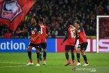 Gol injury time Lille batalkan kemenangan Valencia skor akhir 1-1