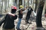 ACT Sulsel  ikut bantu padamkan kebakaran hutan lahan