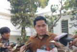 Menteri BUMN Erick Thohir berharap Presiden secepatnya angkat wamen