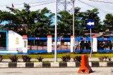 Aparat gabungan TNI-Polri perketat pengamanan gedung DPRD Biak Numfor