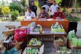 Polda Sulteng amankan dua terduga pembuat kosmetik ilegal di Palu