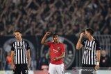 MU tertolong gol penalti, menang tipis atas Partizan Belgrade 1-0