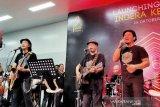 Menhub tampil bersama Padi Reborn di stasiun MRT