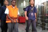 Dua tersangka korupsi pengerjaan jalan Kemiri-Depapre segera disidangkan