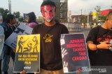 Koalisi Antikekerasan gelar aksi kampanye kreatif di Makassar