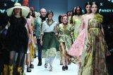 Kain Humbang Hasundutan Sumatera Utara disulap jadi pakaian kelas dunia