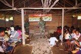 Satgas TMMD Merauke berikan penyuluhan pertanian kepada warga Kogir