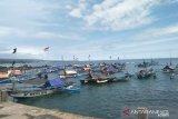 Nelayan mengeluh cuaca buruk hanya dapat empat baskom ikan, normalnya 20 baskom