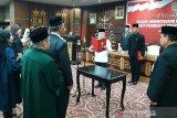 Mofit Saptono resmi jabat Plt Kadisdik, ini pesan Gubernur Kalteng kepadanya