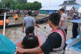 Kapal bermuatan elpiji terbakar di Inhil, dua orang sempat terbakar