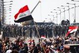 Mahasiswa di Irak  berunjuk rasa meskipun ditentang PM