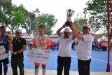 Lapas Kelas I Bandarlampung raih juara pertama turnamen futsal Kakanwil Cup