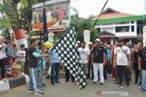 Ratusan pegawai Kemenkumham Sulawesi Tenggara jalan sehat HDKD
