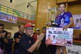 SKR Bekasi juarai Open Turnamen Bola Voli Fokal Cup IV di Agam