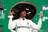Lewis Hamilton juara Grand Prix Meksiko