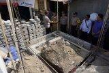 Kades Sigerongan menemukan rangka rumah tahan gempa gunakan bambu