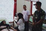 Dispora Ogan Komering Ulu  sumbang 50 kantong darah ke PMI
