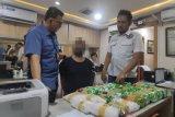 Polisi temukan puluhan kilogram sabu di pusat belanja