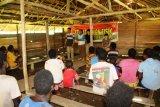 Satgas TMMD Merauke gelar penyuluhan kesehatan kepada warga Kogir Papua